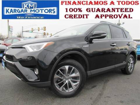 2017 Toyota RAV4 Hybrid for sale at Kargar Motors of Manassas in Manassas VA