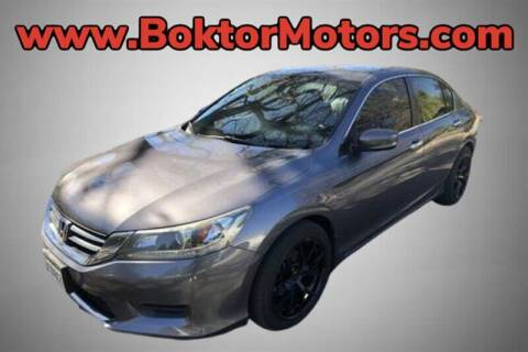 2014 Honda Accord for sale at Boktor Motors in North Hollywood CA