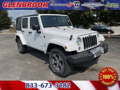 2017 Jeep Wrangler Unlimited for sale at Glenbrook Dodge Chrysler Jeep Ram and Fiat in Fort Wayne IN