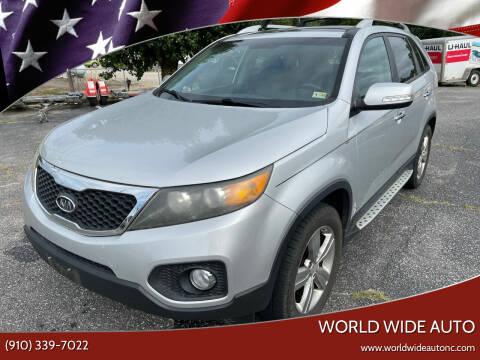 2012 Kia Sorento for sale at World Wide Auto in Fayetteville NC