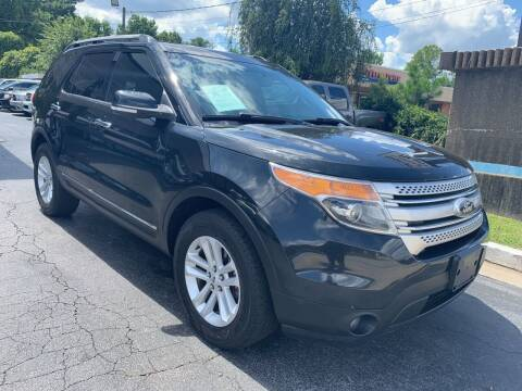 2013 Ford Explorer for sale at Magic Motors Inc. in Snellville GA