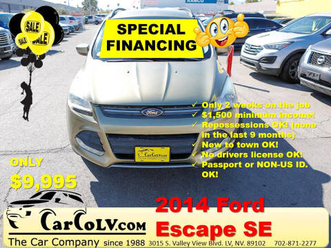 2014 Ford Escape for sale at The Car Company in Las Vegas NV