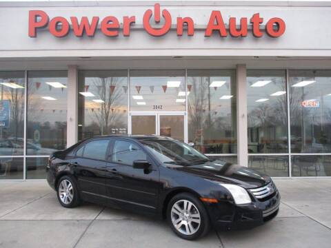 2007 Ford Fusion for sale at Power On Auto LLC in Monroe NC