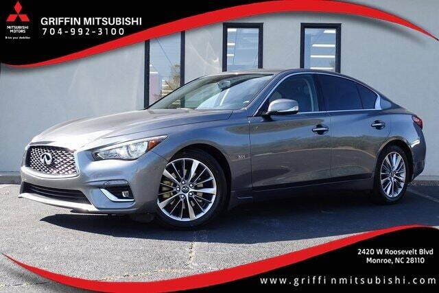 2018 Infiniti Q50 for sale at Griffin Mitsubishi in Monroe NC