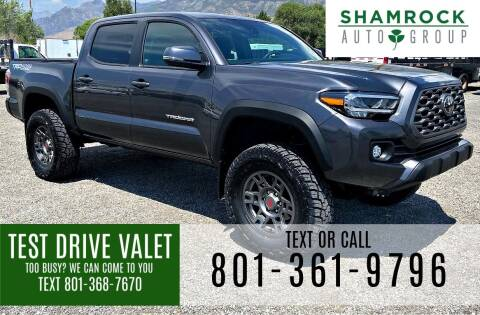 2021 Toyota Tacoma for sale at Shamrock Group LLC #1 in Pleasant Grove UT