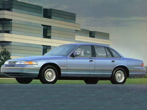 1995 Ford Crown Victoria for sale at Sundance Chevrolet in Grand Ledge MI