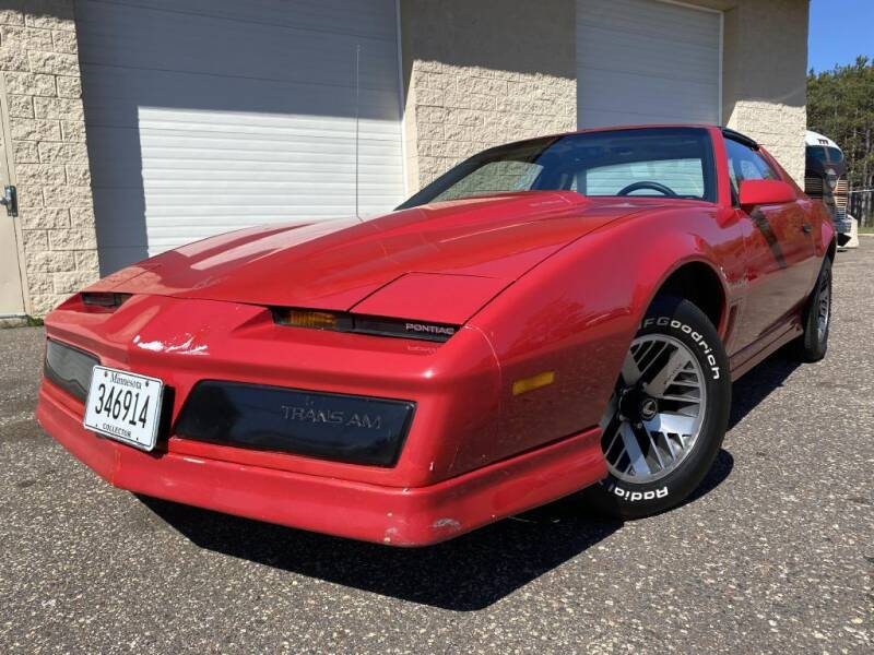 1984 Pontiac Firebird for sale at Route 65 Sales & Classics LLC - Classic Cars in Ham Lake MN