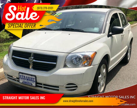 2009 Dodge Caliber for sale at STRAIGHT MOTOR SALES INC in Paterson NJ