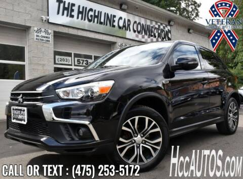 2019 Mitsubishi Outlander Sport for sale at The Highline Car Connection in Waterbury CT