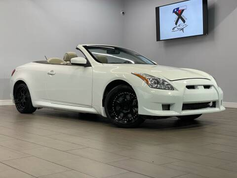 2010 Infiniti G37 Convertible for sale at TX Auto Group in Houston TX