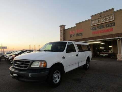 2002 Ford F-150 for sale at Import Motors in Bethany OK