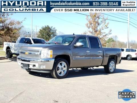 2012 Chevrolet Silverado 1500 for sale at Hyundai of Columbia Con Alvaro in Columbia TN