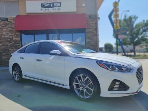 2018 Hyundai Sonata for sale at 719 Automotive Group in Colorado Springs CO