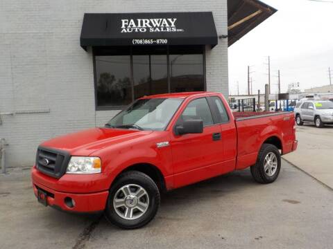 2008 Ford F-150 for sale at FAIRWAY AUTO SALES, INC. in Melrose Park IL