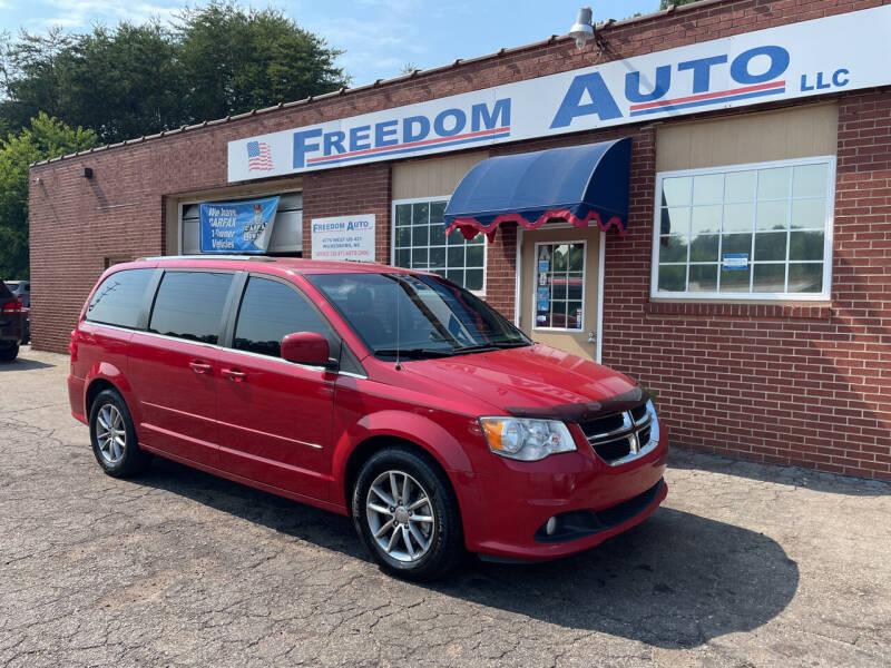 2015 Dodge Grand Caravan for sale at FREEDOM AUTO LLC in Wilkesboro NC