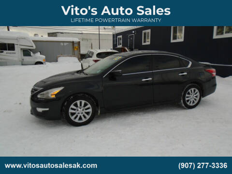 2013 Nissan Altima for sale at Vito's Auto Sales in Anchorage AK