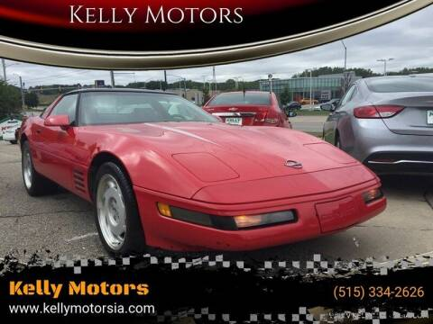 1992 Chevrolet Corvette for sale at Kelly Motors in Johnston IA