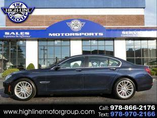 2013 BMW 7 Series for sale at Highline Group Motorsports in Lowell MA