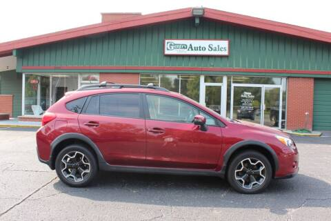 2015 Subaru XV Crosstrek for sale at Gentry Auto Sales in Portage MI