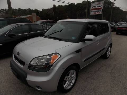 2010 Kia Soul for sale at Deer Park Auto Sales Corp in Newport News VA
