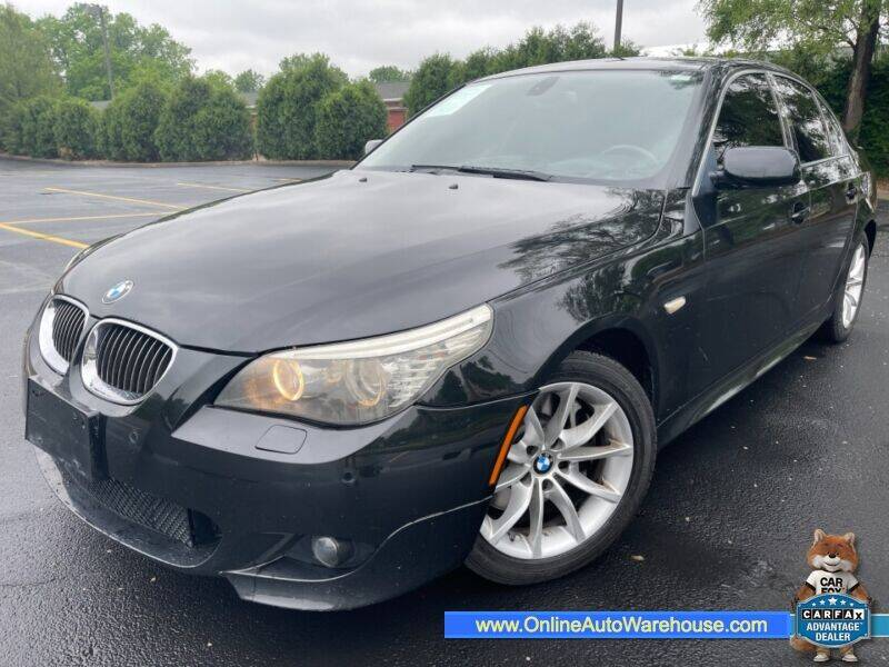 2008 BMW 5 Series for sale at IMPORTS AUTO GROUP in Akron OH