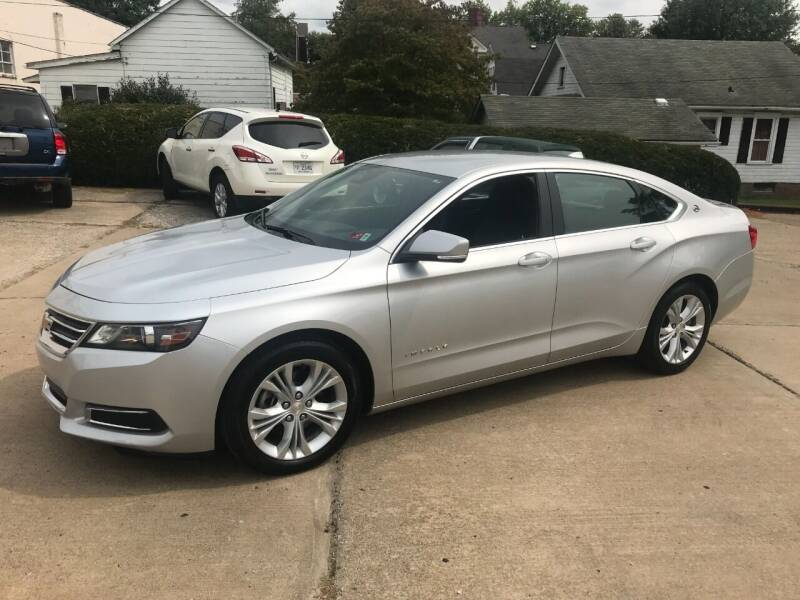 2014 Chevrolet Impala for sale at DALE'S PREOWNED AUTO SALES INC in Moundsville WV