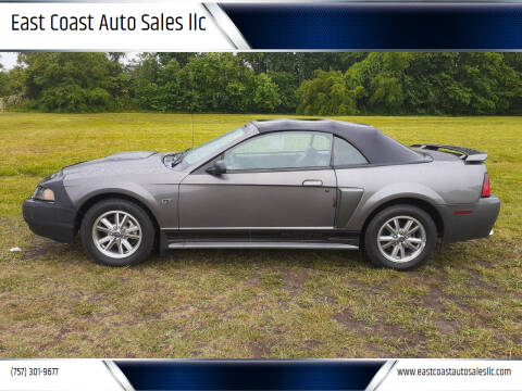 2003 Ford Mustang for sale at East Coast Auto Sales llc in Virginia Beach VA