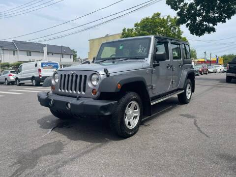2013 Jeep Wrangler Unlimited for sale at Kapos Auto, Inc. in Ridgewood NY