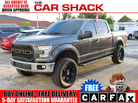 2015 Ford F-150 for sale at The Car Shack in Hialeah FL