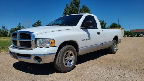 2005 Dodge Ram Pickup 1500 for sale at Sinner Auto in Waubay SD