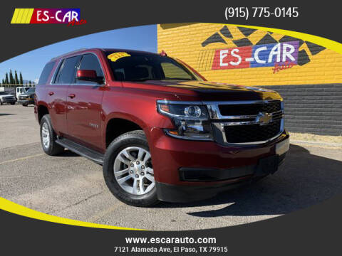 2019 Chevrolet Tahoe for sale at Escar Auto - 9809 Montana Ave Lot in El Paso TX