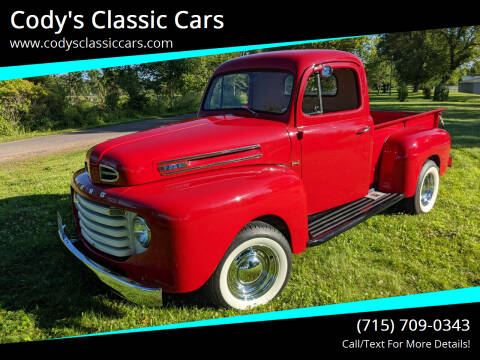 1949 Ford F-1 for sale at Cody's Classic Cars in Stanley WI