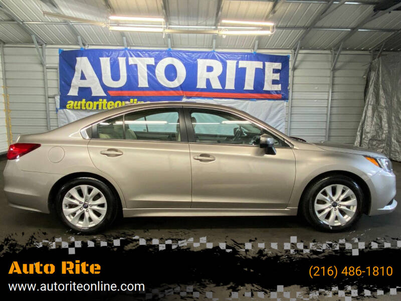 2016 Subaru Legacy for sale at Auto Rite in Cleveland OH
