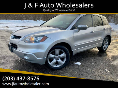 2007 Acura RDX for sale at J & F Auto Wholesalers in Waterbury CT