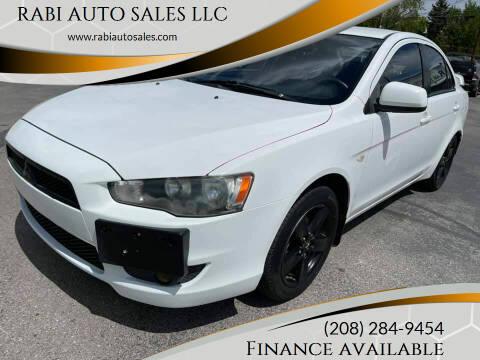 2009 Mitsubishi Lancer for sale at RABI AUTO SALES LLC in Garden City ID
