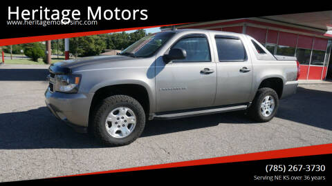 2007 Chevrolet Avalanche for sale at Heritage Motors in Topeka KS