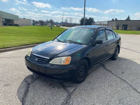 2002 Honda Civic for sale at JE Autoworks LLC in Willoughby OH