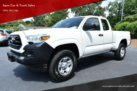 2017 Toyota Tacoma for sale at Apex Car & Truck Sales in Apex NC