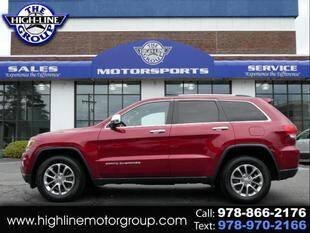 2014 Jeep Grand Cherokee for sale at Highline Group Motorsports in Lowell MA