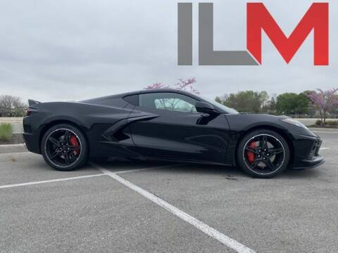 2021 Chevrolet Corvette for sale at INDY LUXURY MOTORSPORTS in Fishers IN
