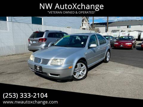 2001 Volkswagen Jetta for sale at NW AutoXchange in Auburn WA