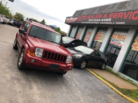 2006 Jeep Commander for sale at Washington Auto Group in Waukegan IL