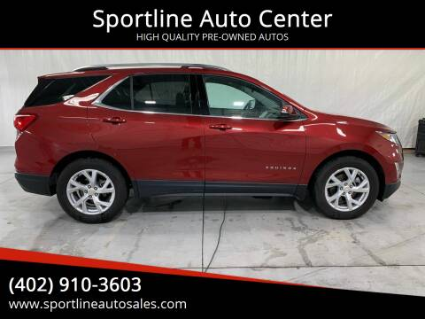 2019 Chevrolet Equinox for sale at Sportline Auto Center in Columbus NE