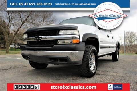 2002 Chevrolet Silverado 2500HD for sale at St. Croix Classics in Lakeland MN