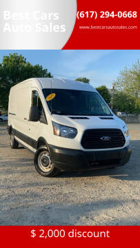 2019 Ford Transit Cargo for sale at Best Cars Auto Sales in Everett MA
