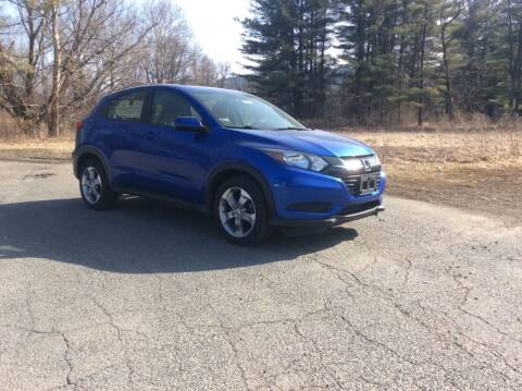 2018 Honda HR-V for sale at Route 102 Auto Sales  and Service in Lee MA
