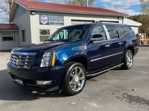 2009 Cadillac Escalade for sale at Alexandria Auto Mart LLC in Alexandria PA