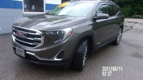 2019 GMC Terrain for sale at Allen's Pre-Owned Autos in Pennsboro WV