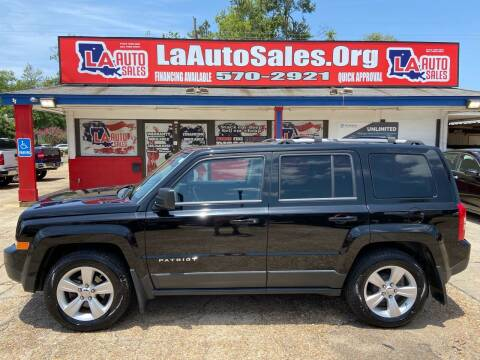 2012 Jeep Patriot for sale at LA Auto Sales in Monroe LA