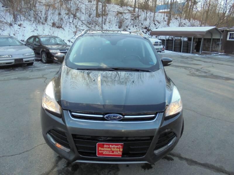 2016 Ford Escape for sale at Precision Valley Auto Sales in Springfield VT
